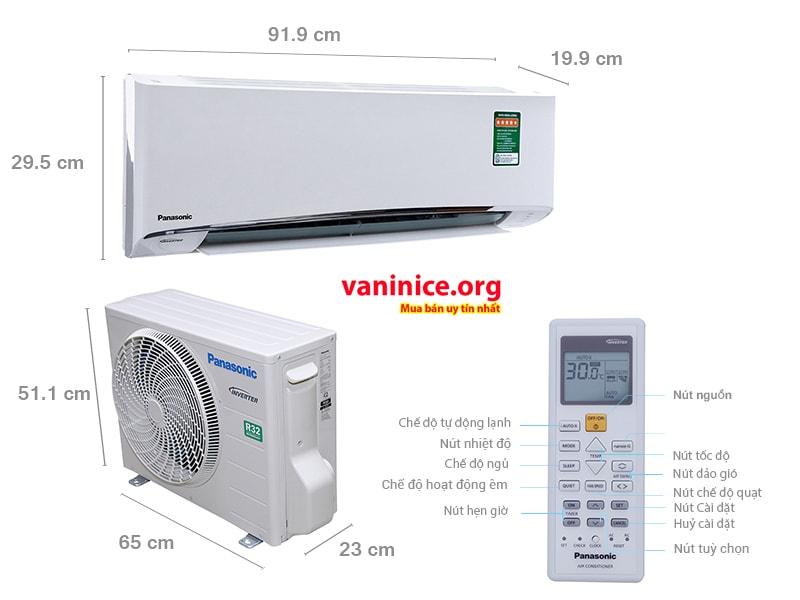 Máy lạnh panasonic 1 ngựa tiết kiệm điện
