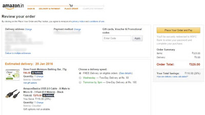 Amazon Shopping trick