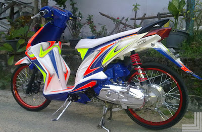 honda beat modifikasi murah