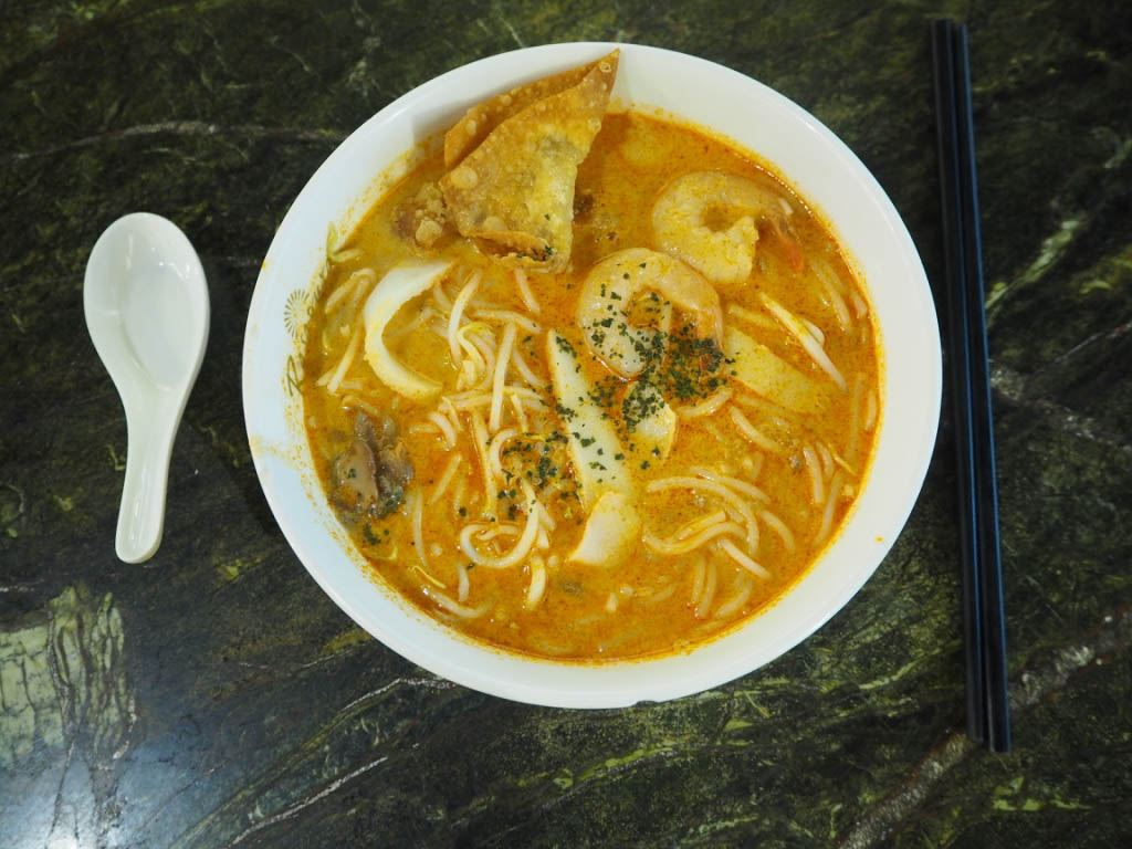 Singaporean Laksa curry