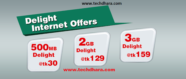 Robi delight internet offers for all customers