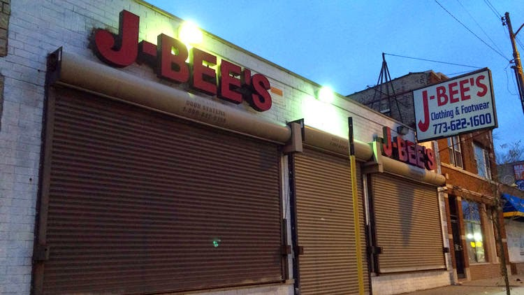 J Bees Clothing Chicago Black thieves burglarized a