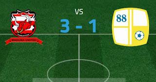 Madura United Menang 3 - 1 atas Barito Putera