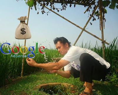 """Sambil bertani sambil belajar mencari dollar di internet """"Uing Hayang siga batur, apa batur hayang jadi uing .... Ah, teuing"""""""