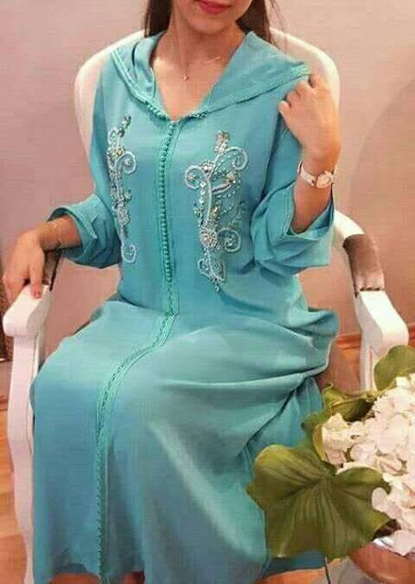 djellaba marocaine femme 2018