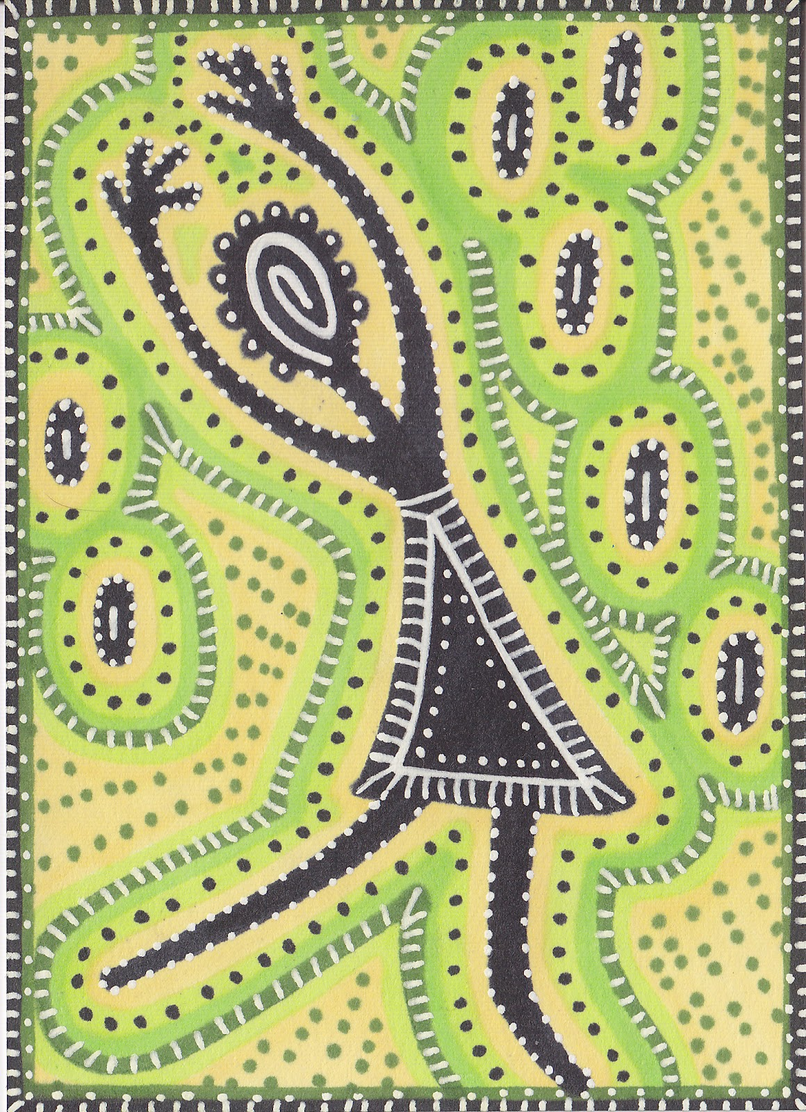 Sunkissed Corner Australian Aboriginal Art Swap