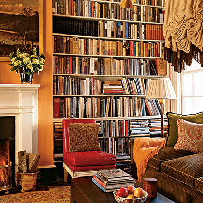 Making a case for bookcases the enchanted home - Bookshelf ideas for bedroom ...