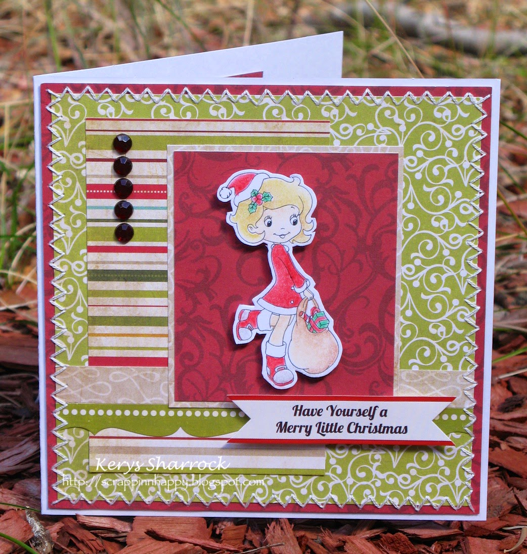 A Very Merry Borik�n Christmas: Scrappin'n'Happy: Have Yourself A Merry Little Christmas