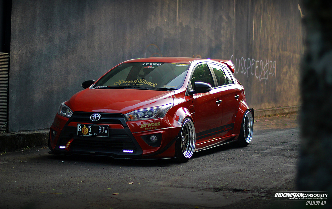 Modifikasi All New Yaris Trd Sportivo Grand Veloz Merah Modif Foto Toyota Jdm By Orange Metallic Owner