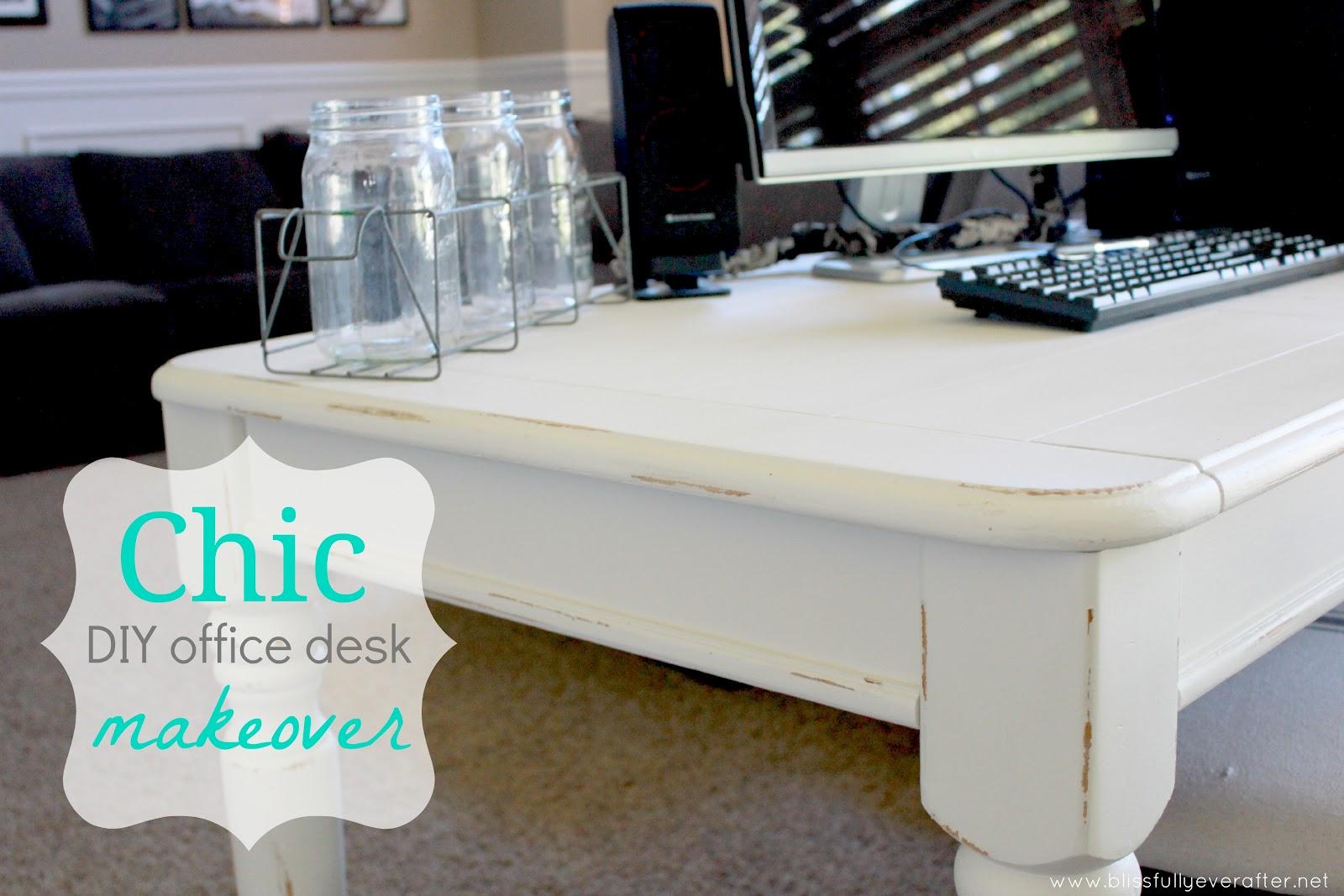 Office Desk Diy: DIY Desk {coffee Table Turned Office Desk}