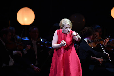 Anne-Sophie Duprels performing at the 2018 International Opera Awards (photo Chris Christodoulou)