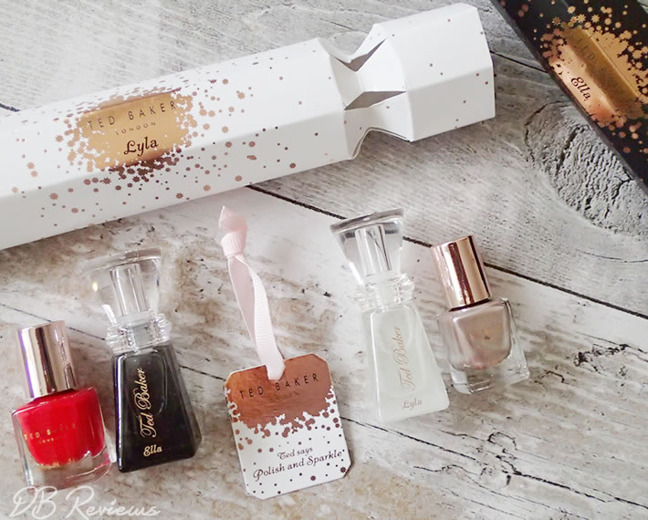 Ted Baker London Polish and Sparkle Christmas Crackers
