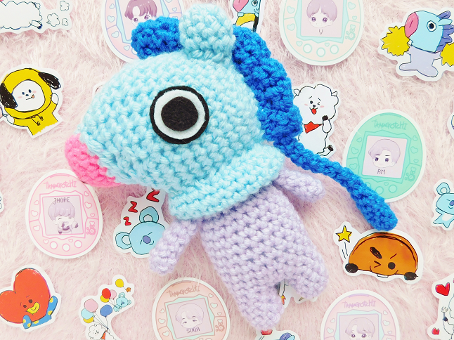 BT21 Mang Crochet Pattern