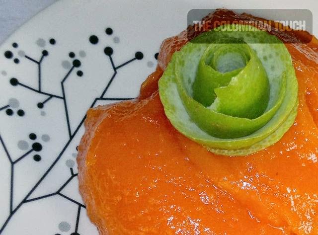arequipe de papaya manjar de papaya