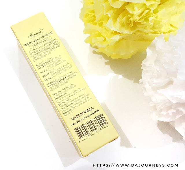 Review Benton Shea Butter and Coconut Hand Cream