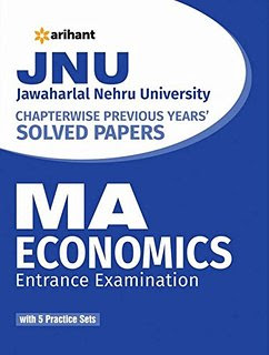 Download Free books PDF for JNU MA Economics Entrance Exam