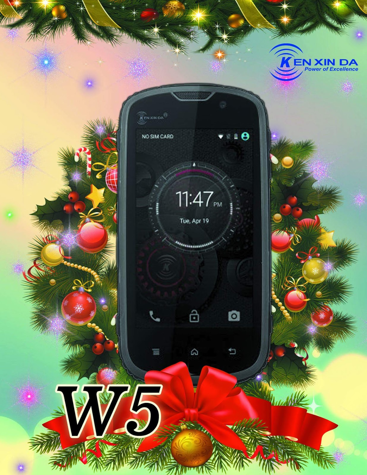 Ken Xin Da W5, W6, W7 Android Phones Announced, All With MT6735 SoC