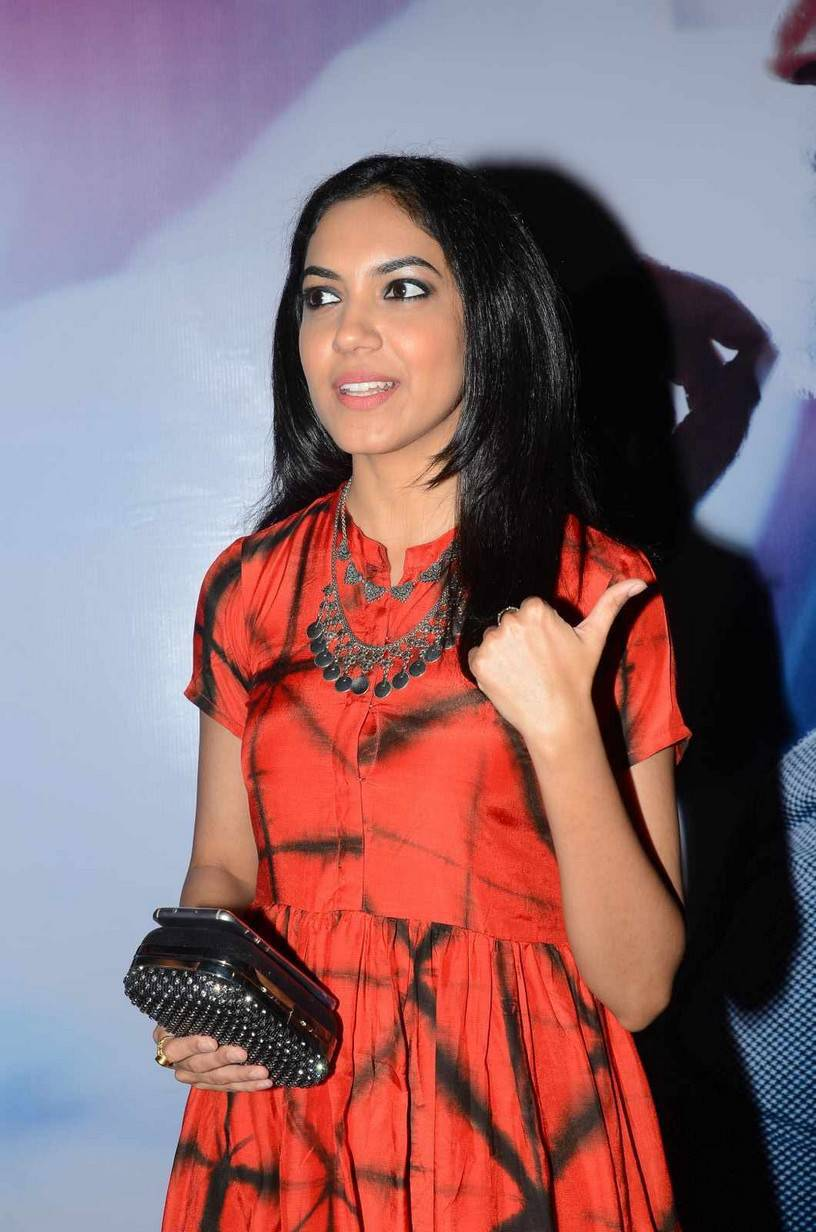 Actress Ritu Varma Stills At Audio Launch In Red Dress
