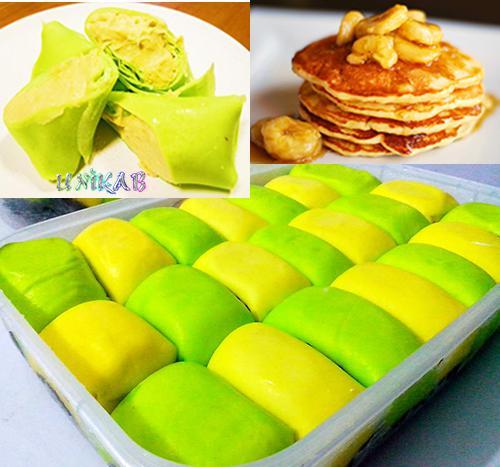 Resep Cara Membuat Pancake Durian Pisang Coklat Ncc Enak Mudah Dan Praktis