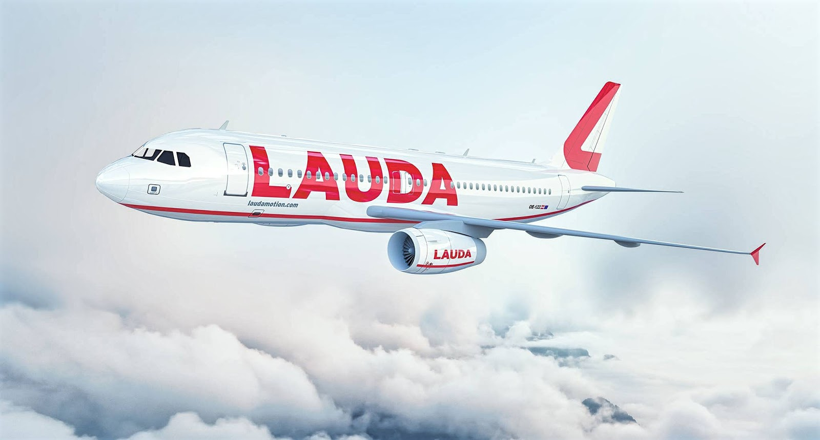 Airbus A321-200 of Laudamotion New Livery August 2018
