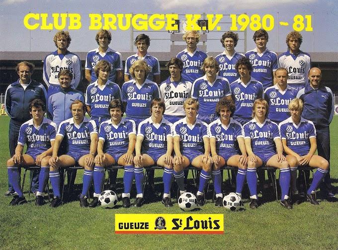 CLUB BRUGGE K.V 1980-81.