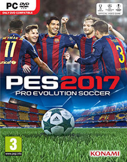 Download Game Pro Evolution Soccer (PES) 2017 For PC Full Unlocked