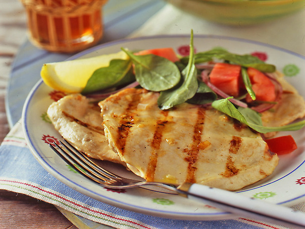 Grilled Chicken Paillard with Lemon and Black Pepper and ...