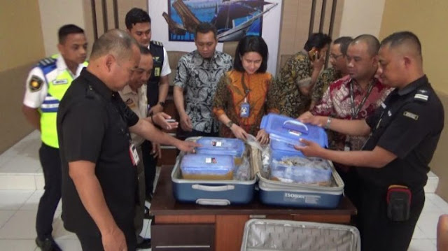 Penyelundupan Koral Ilegal Diamankan di Bandara Hasanuddin Makassar