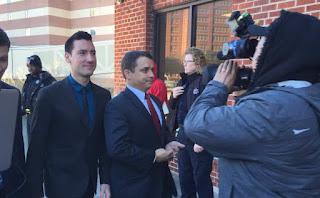 David Daleiden outside of Court