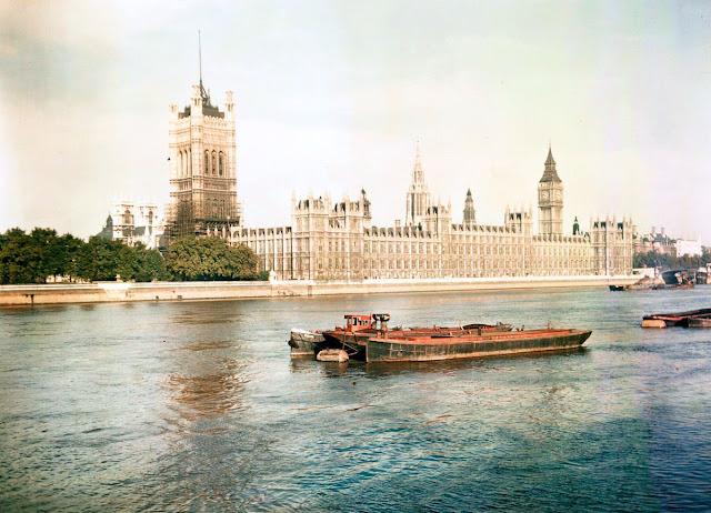 Raras fotografías de Londres a color 1943 - 1945