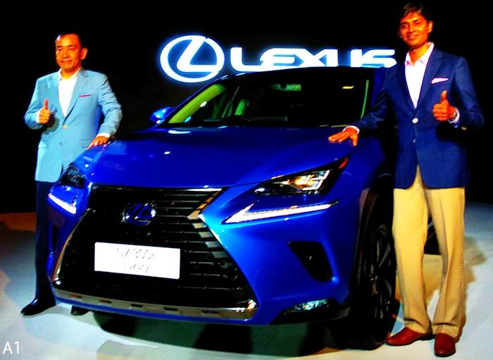 6746353bc7 LEXUS INDIA UNVEILS ITS NEXT HYBRID ELECTRIC VEHICLE – NX300H ...