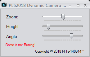 PES 2018 Dynamic Camera Tweak by MjTs-140914