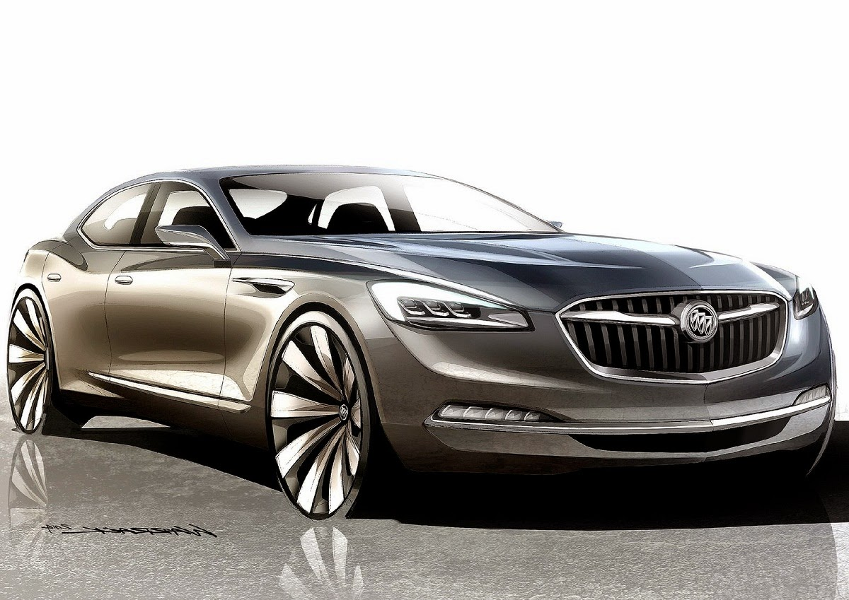 2015 Buick Avenir Concept Luxury Flagship Sedan Car HD Wallpapers Download free images and photos [musssic.tk]