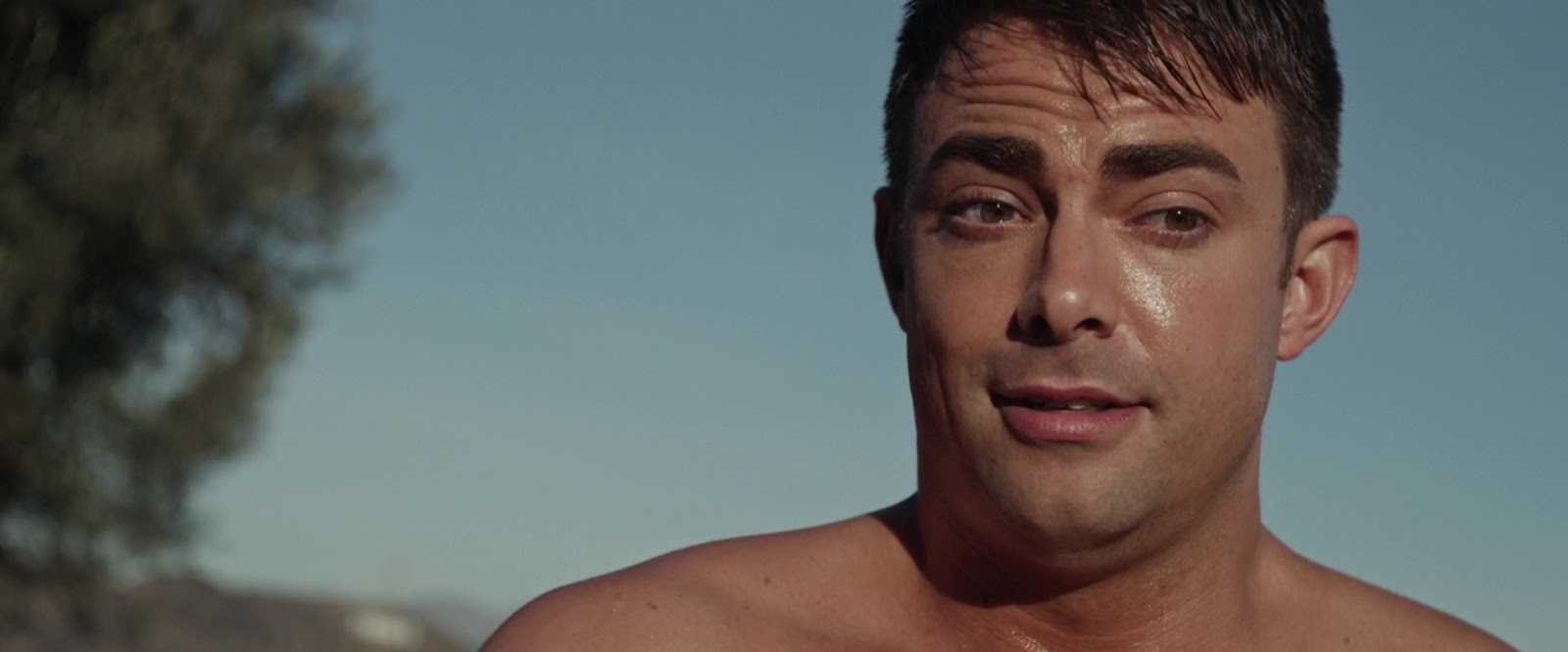 ausCAPS: Jonathan Bennett shirtless in The Haunting Of