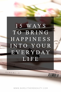 Barely There Beauty Blog How To Be Happy Wellness Tips