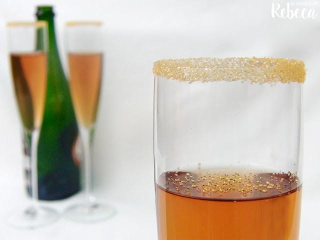 Gelatina de espumoso (cava, sidra o champán)