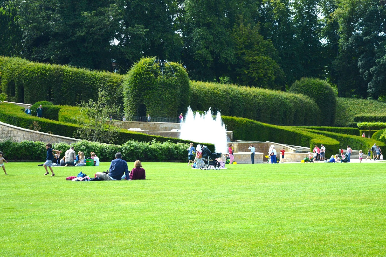 The best picnic spots in Northumberland | Alnwick Garden