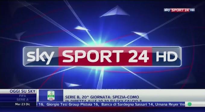 Sky Sport Serie A / Sky Sport 24 - Eutelsat Frequency