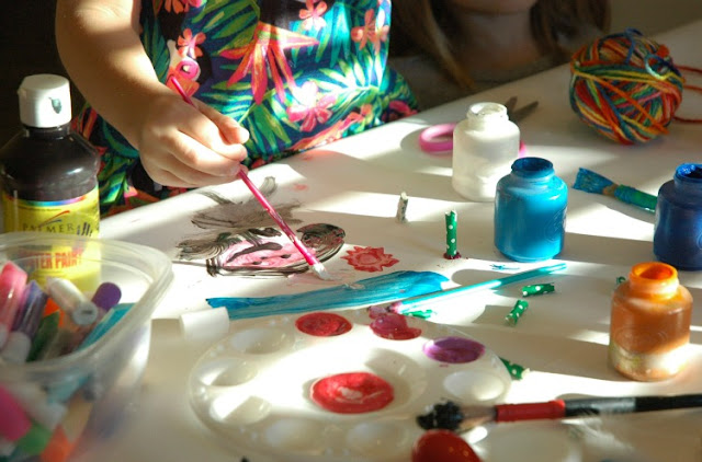Process Art for Preschoolers and Elementary Kids- Art Buffet