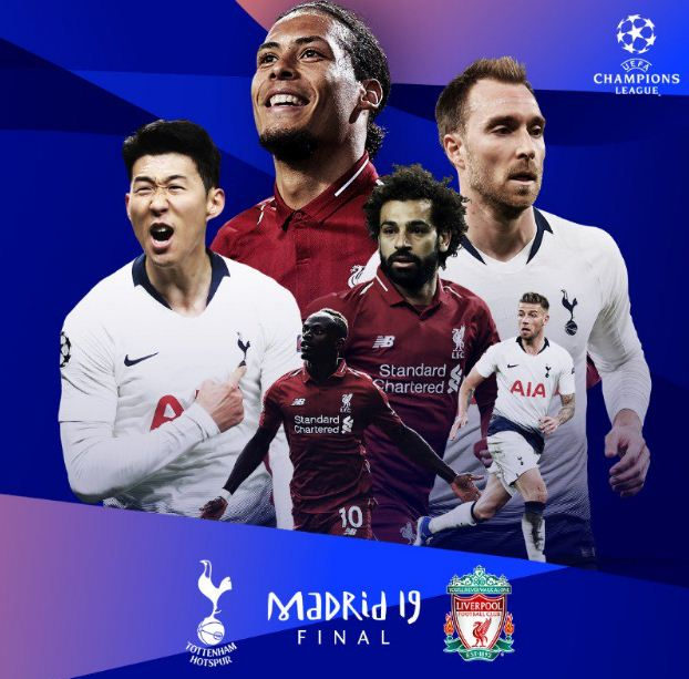 Jadwal Final Liga Champions: Tottenham Hotspur vs Liverpool