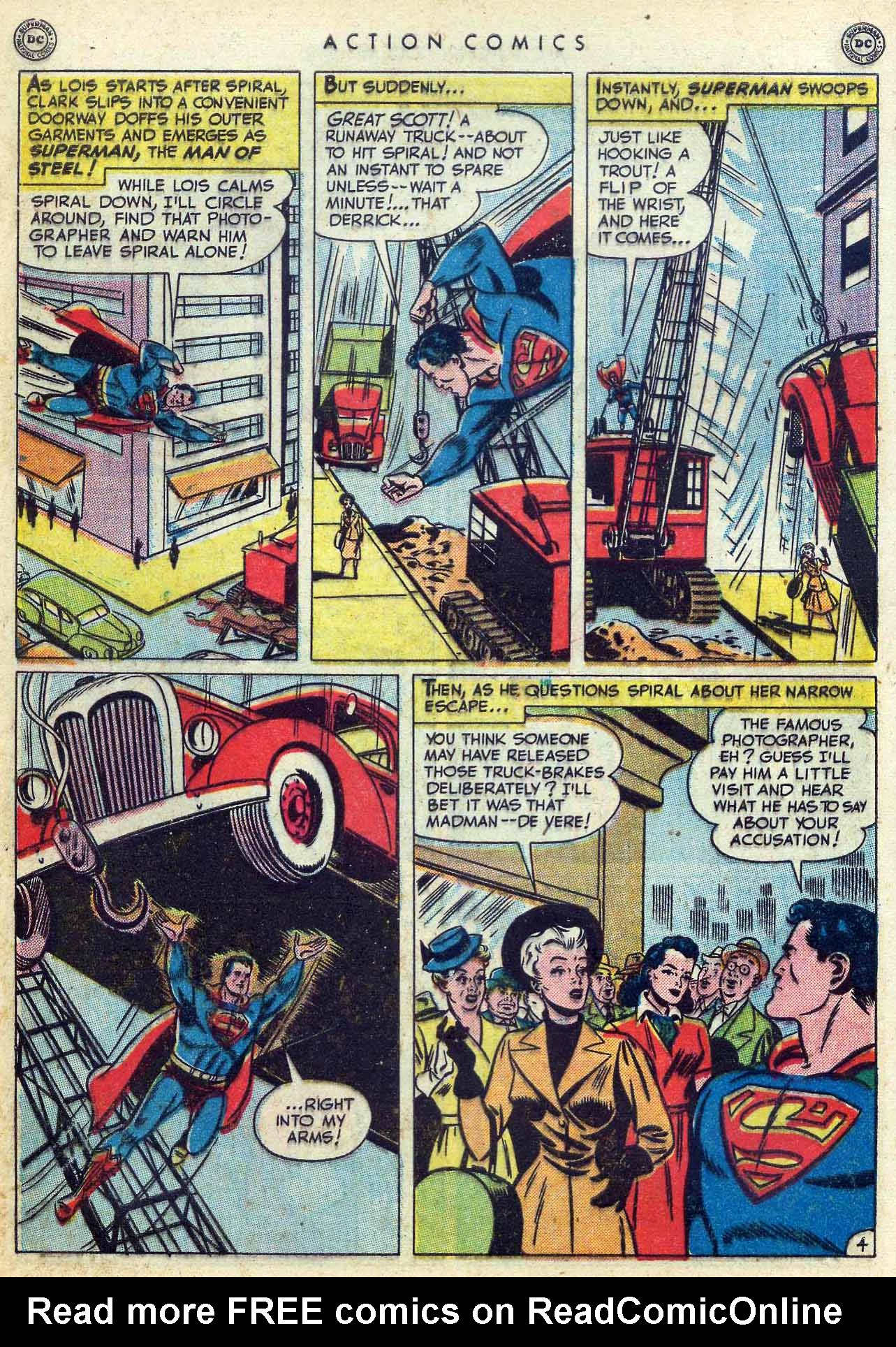 Read online Action Comics (1938) comic -  Issue #155 - 6