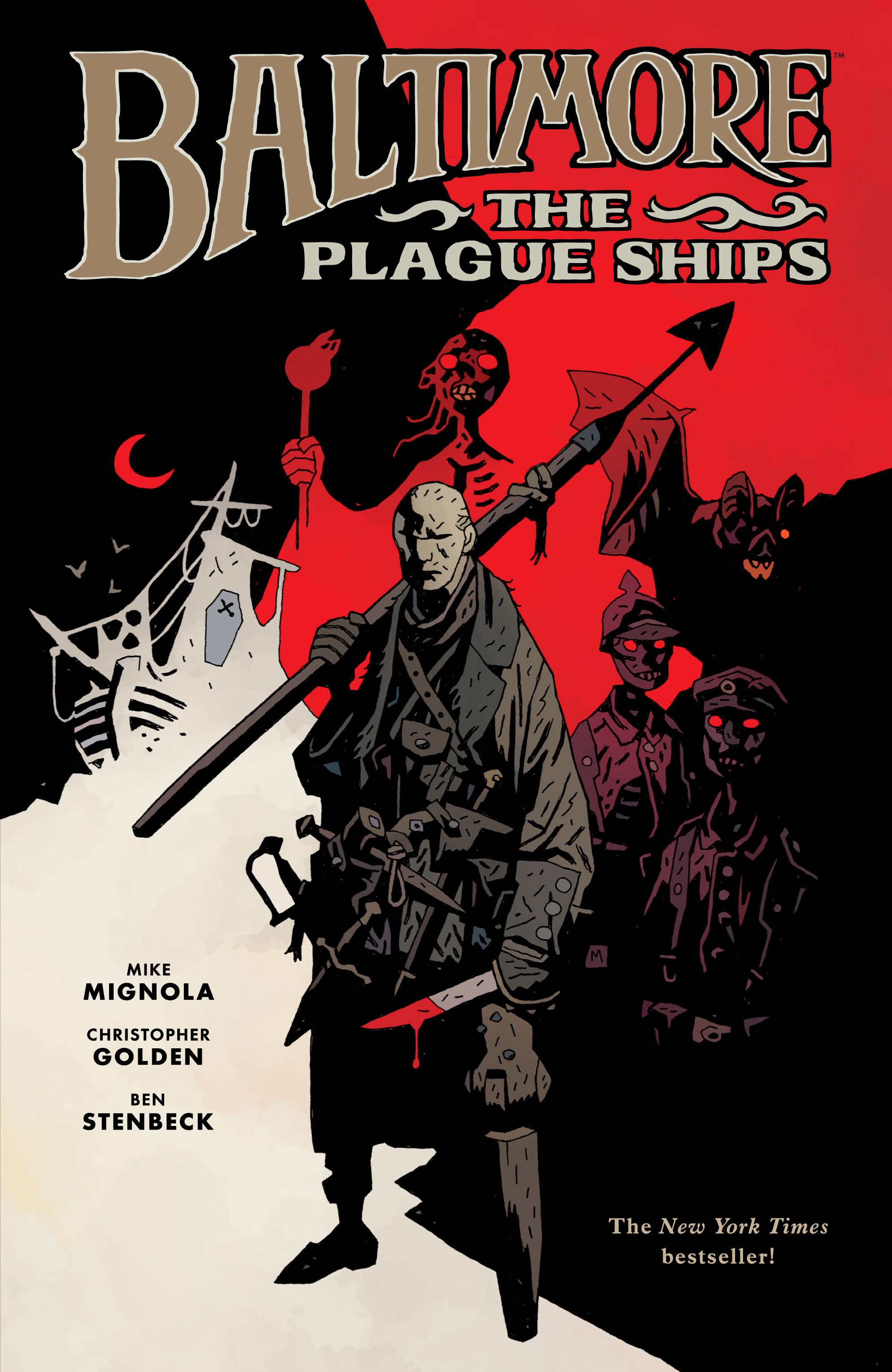Read online Baltimore: The Plague Ships comic -  Issue # TPB - 1