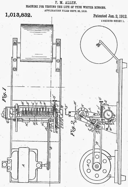 oz.Typewriter: Kee Lox Typewriter Ribbon Tester: A