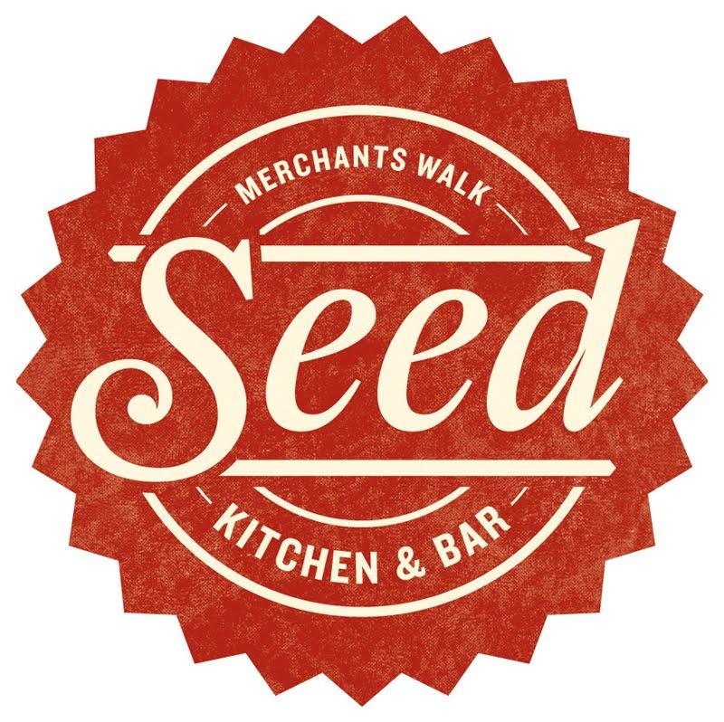 Seed Kitchen And Bar: Green Olive Media: Logo Design
