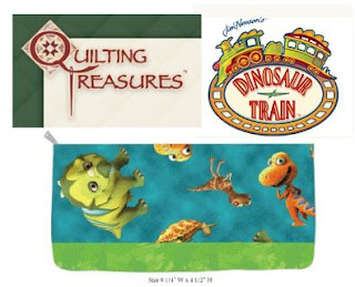 Life Is A Sandcastle Giveaway Quilting Treasures Dinosaur