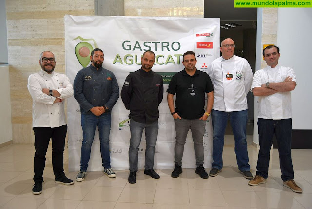 Destacados y reconocidos chefs presentan en La Palma sus recetas más innovadoras con el aguacate como protagonista