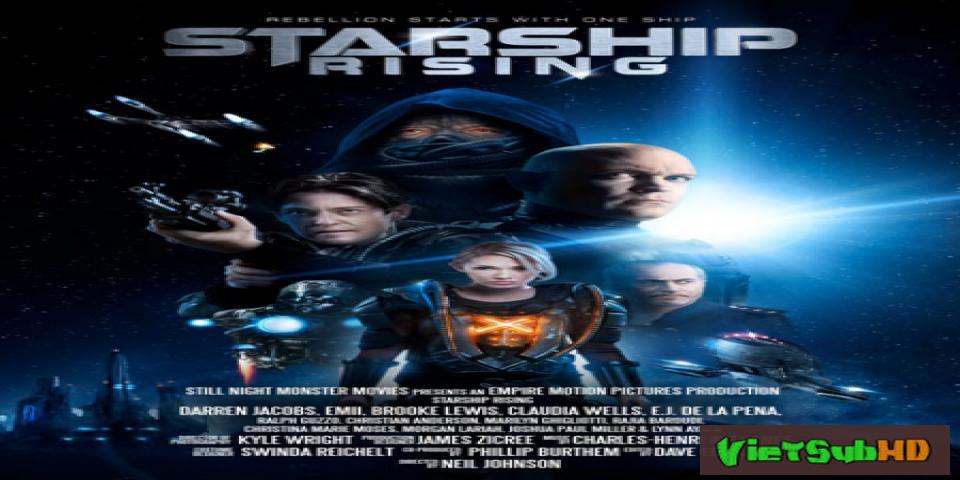 Phim Cuộc Chiến Tàu Vũ Trũ VietSub HD | Starship: Rising 2014