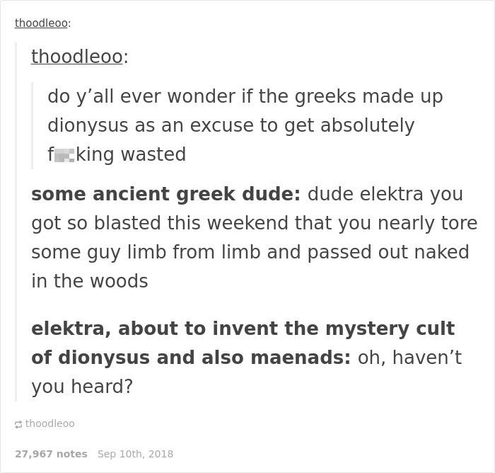 20 Genius Jokes Only Greek Mythology Lovers Will Understand