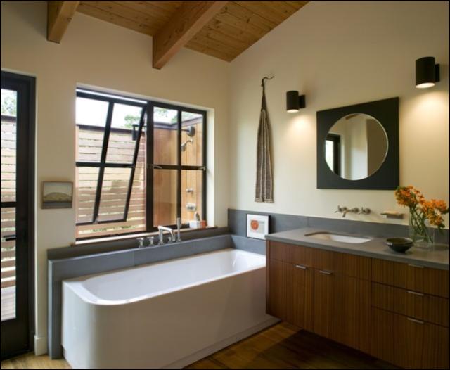 Key Interiors by Shinay Mid Century Modern Bathroom