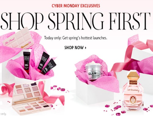 Sephora Cyber Monday Shop Spring First Early Launches